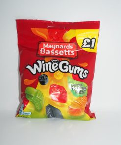 Maynards Bassetts Wine Gums £1
