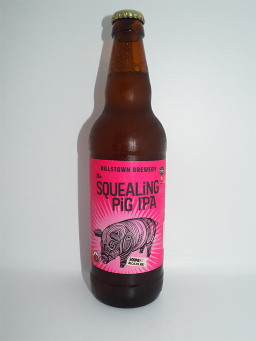 The Squealing Pig IPA, Hillstown Brewery