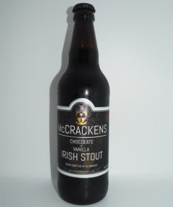 Chocolate & Vanilla Irish Stout, McCrackens Real Ale